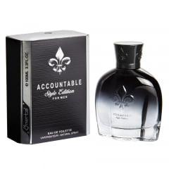 Perfume Masculino Accountable Style Edition Omerta Eau de Toilette