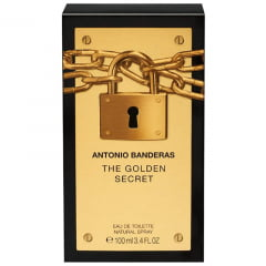 Perfume Masculino The Golden Secret Antonio Banderas Eau de Toilette