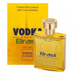 Perfume Masculino Vodka Brasil Yellow Paris Elysees Eau de Toilette