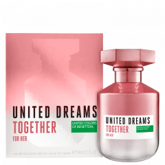 Perfume Feminino United Dreams Together For Her Benetton Eau de Toilette