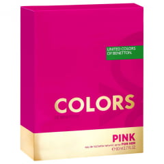 Perfume Feminino Colors Pink Benetton Eau de Toilette