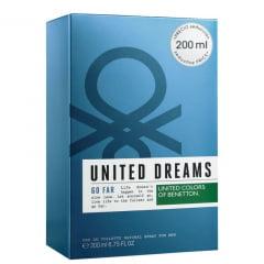 Perfume Masculino Go Far United Dreams Benetton Eau de Toilette