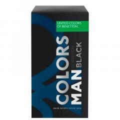 Perfume Masculino Colors Man Black Benetton Eau de Toilette