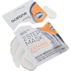 Máscara Facial 2 Step Mask Óleo de Amêndoas e Vitamina E Océane
