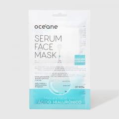 Máscara Facial com Ácido Hialurônico Serum Face Mask Océane