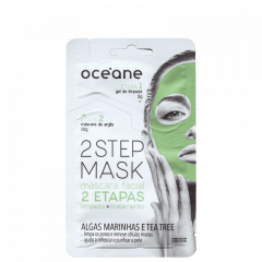 Máscara Facial de Algas Marinhas e Tea Tree 2 Step Mask Océane