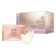 Máscara para Área dos Olhos Benefiance WrinkleResist24 Pure Retinol Express Smoothing Eye Mask Shiseido 12 Un